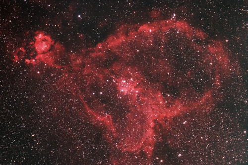 IC1805 Heart Nebula – Astrophotography by HrAstro