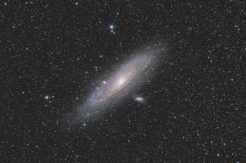 M31 Andromeda Galaxy Widefield
