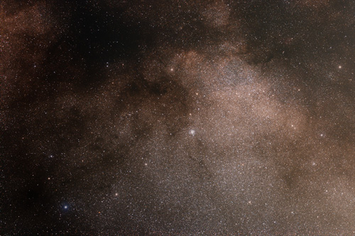 Scutum Star Cloud, M11 (Wild duck) widefield