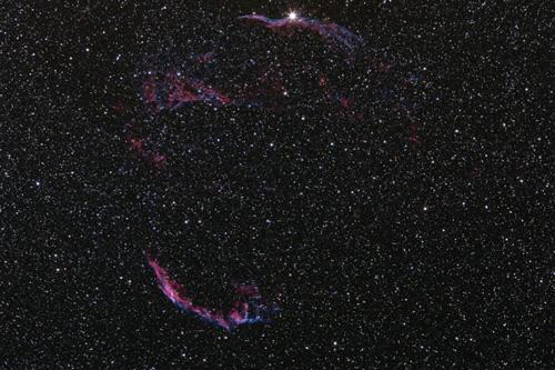 The Veil nebula complex
