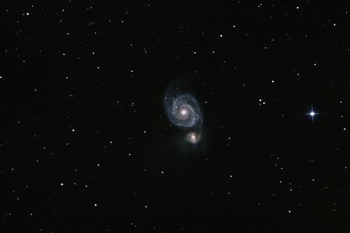 M51, Whirlpool Galaxy