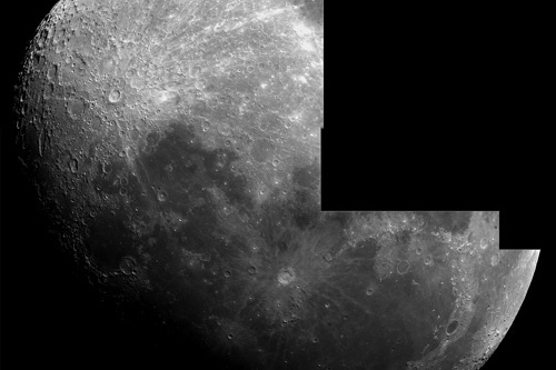 Unfinished Moon mosaic