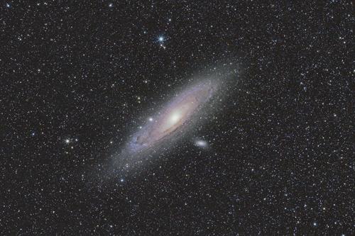 M31 Andromeda Galaxy Widefield