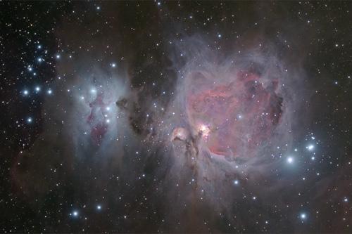 Orion (M42) and Running man nebula