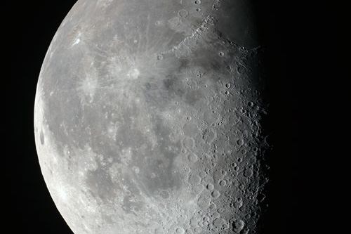 The Waning Gibbous Moon