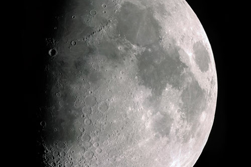 The Waxing Gibbous Moon